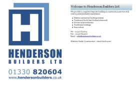 hendersonbuilders.co.uk