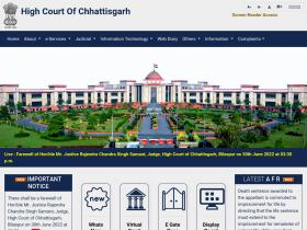 highcourt.cg.gov.in