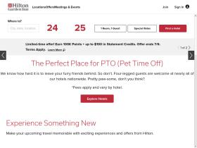 hiltongardeninn.hilton.co.uk
