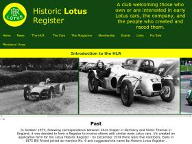 historiclotusregister.co.uk