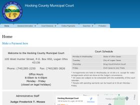 hockingcountymunicipalcourt.com