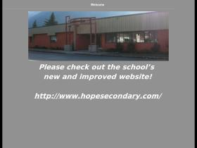 hopesecondary.ca