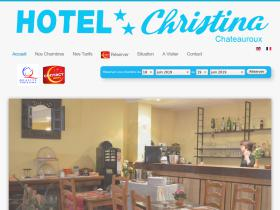 hotel-christina-chateauroux.fr