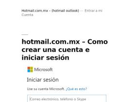 hotmail-com.mx