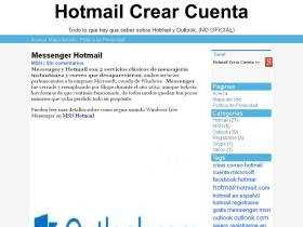 hotmailcrearcuenta.com