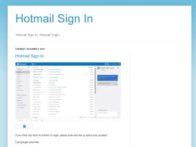 hotmailsigninpage.blogspot.ca