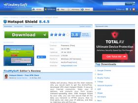 hotspot-shield.findmysoft.com