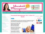 household-management-101.com