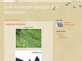 how-to-learn-spanish-for-beginners.blogspot.com
