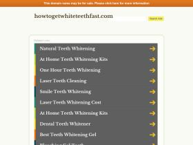 howtogetwhiteteethfast.com