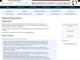 hr.washcoll.edu