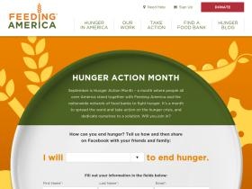 hungeractionmonth.org
