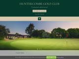huntercombegolfclub.co.uk