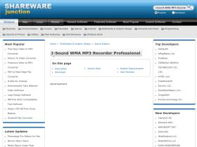 i-sound-wma-mp3-recorder-professional.sharewarejunction.com