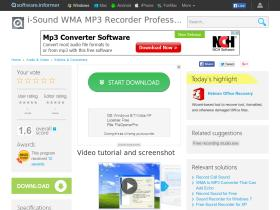i-sound-wma-mp3-recorder-professional.software.informer.com