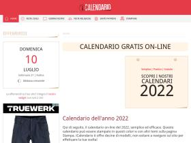 Calendario Semestrale 2020.40 Siti Web Simili Come Calendario 365 It Similarsites Com