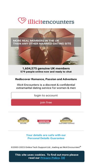 illicit encounters dating website