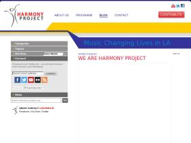 in-harmony.harmony-project.org
