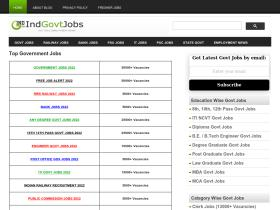 indiangovernmentjobs.in