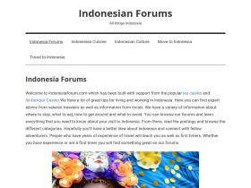 indonesianforums.com