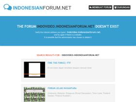 indovideo.indonesianforum.net