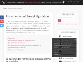 infraction-route.permisapoints.fr