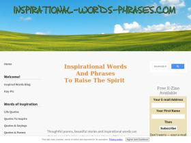 inspirational-words-phrases.com