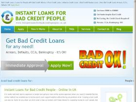 instantloansforbadcreditpeople.co.uk