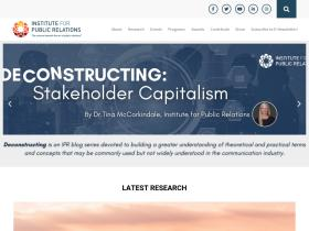 instituteforpr.org