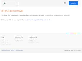 Inteldinarchronicles blogspot com Analytics - Market Share