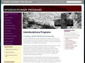 interdisciplinary.loyno.edu