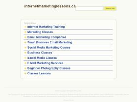 internetmarketinglessons.ca