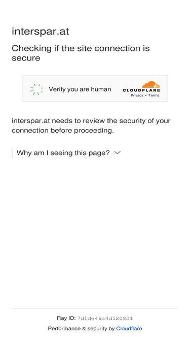 Interspar online shop