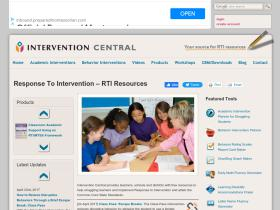 Interventioncentral Org Analytics Market Share Data Ranking Similarweb Tools for classroom intervention jim wright www.interventioncentral.org. similarweb
