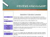 intuitive-calculus.com