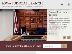 Iowacourts gov Analytics - Market Share Stats & Traffic Ranking