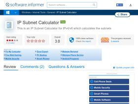 ip-subnet-calculator.software.informer.com