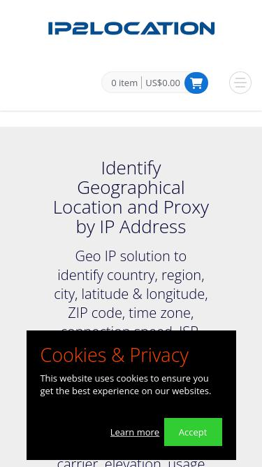 Ip2location com Analytics - Market Share Stats & Traffic Ranking