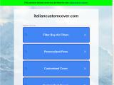 italiancustomcover.com