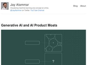 Jalammar github io Analytics - Market Share Stats & Traffic Ranking