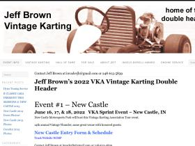 jeffbrownvintagekarting.com