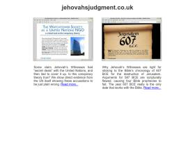 jehovahsjudgment.co.uk