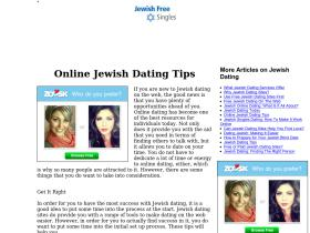 devol jewish dating site Jdate is the leading jewish dating site for single jewish men and women looking to make a great connection with other jewish singles what sets us apart is our ability to help our members make quality connections.