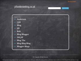 jillandersonblog.co.uk