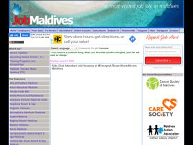 job-maldives.com