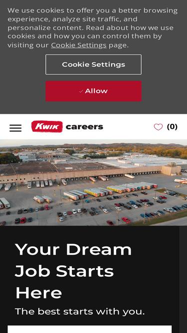 Jobs kwiktrip com Analytics - Market Share Stats & Traffic