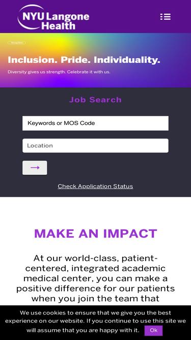 Jobs nyulangone org Analytics - Market Share Stats & Traffic