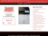 johnsonsofficeequipment.com
