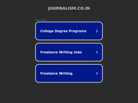 journalism.co.in