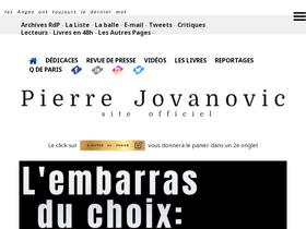 Jovanovic com Analytics - Market Share Stats & Traffic Ranking